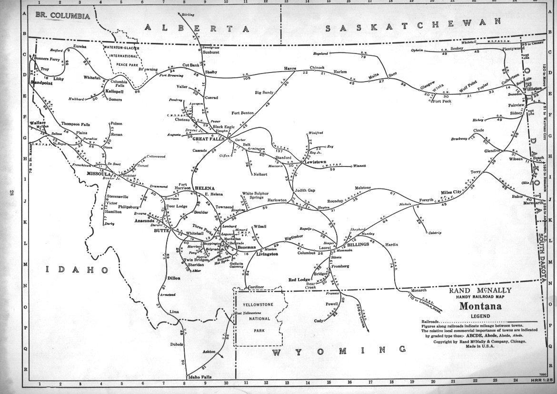 Hawk Amp Badger Railroad  Railroad Maps  North America