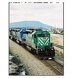 With Lookout Mtn. in the background, Q583 heads South with merchandise for Atlanta and points beyond.