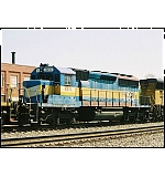 This old DME unit looks like a good candidate for HLCX's paint deal with the Huntington Shops. On CSX S676.