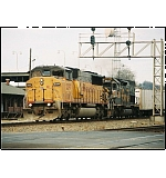 3 windows and a Tunnel Motor on NS 251, not a common combo for the deep South!