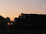 IC 6204 brings a pickup off of the set out track at Duplainville at daybreak. August 4th, 2011