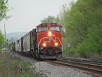 Another southbound manifest rolls down Duplainville. May 21st, 2011
