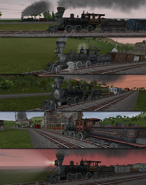 Hawk & Badger Railroad - Railroad Tycoon III Add-Ons - New