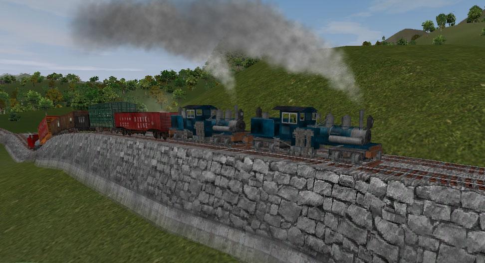 Hawk Badger Railroad Railroad Tycoon III AddOns New Engines
