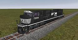 NS SD-90 MAC