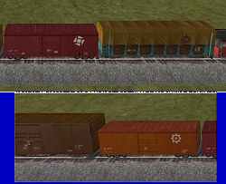Trainmaster Boxcars