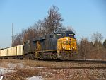 CSX power leads a CP 800 series train (Coal) east through Duplainville on the morning of March 14th, 2011.